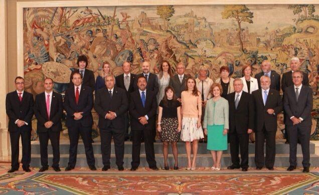 UEX y FUNDHEX, presentes en la Audiencia de la Princesa de Asturias