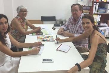 Fundhex recibe a la Directora de la Oficina Jurídica para la Mujer de Cochamba (Bolivia)