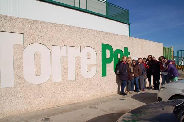 Fundhex visita las instalaciones de TORREPET S.L.