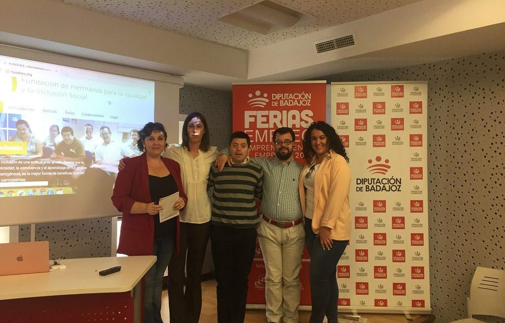 FUNDHEX participa en la Feria de Empleo, Emprendimiento y Empresa 2017 de Zafra