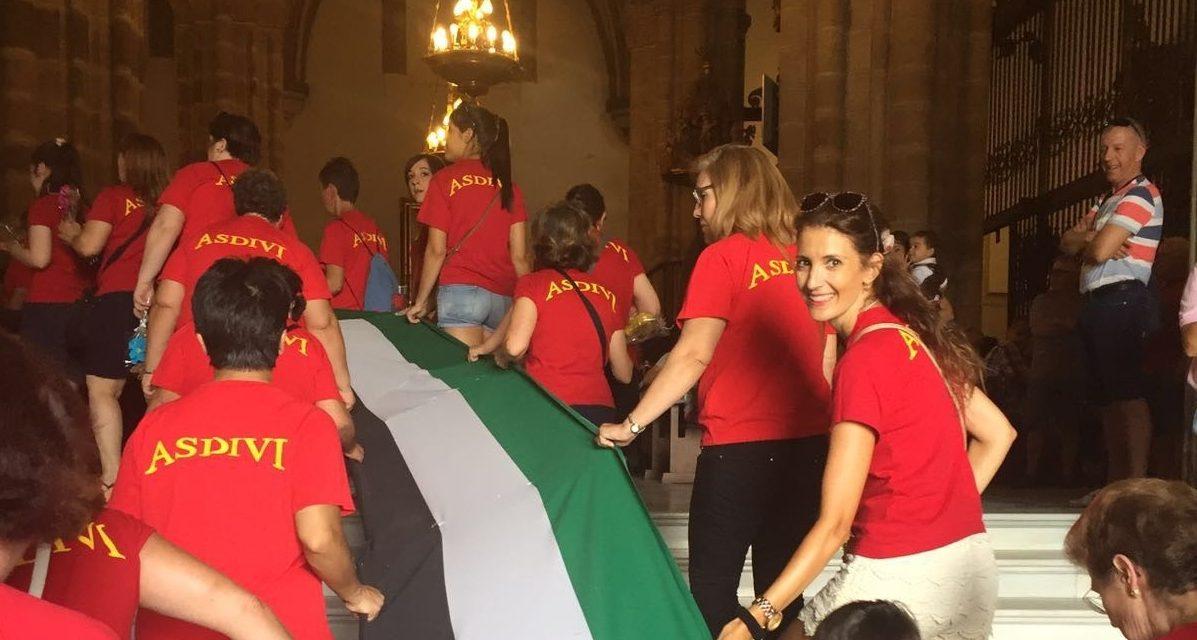 Fundhex participa de la mano de ASDIVI en la ofrenda floral a la Virgen de Guadalupe