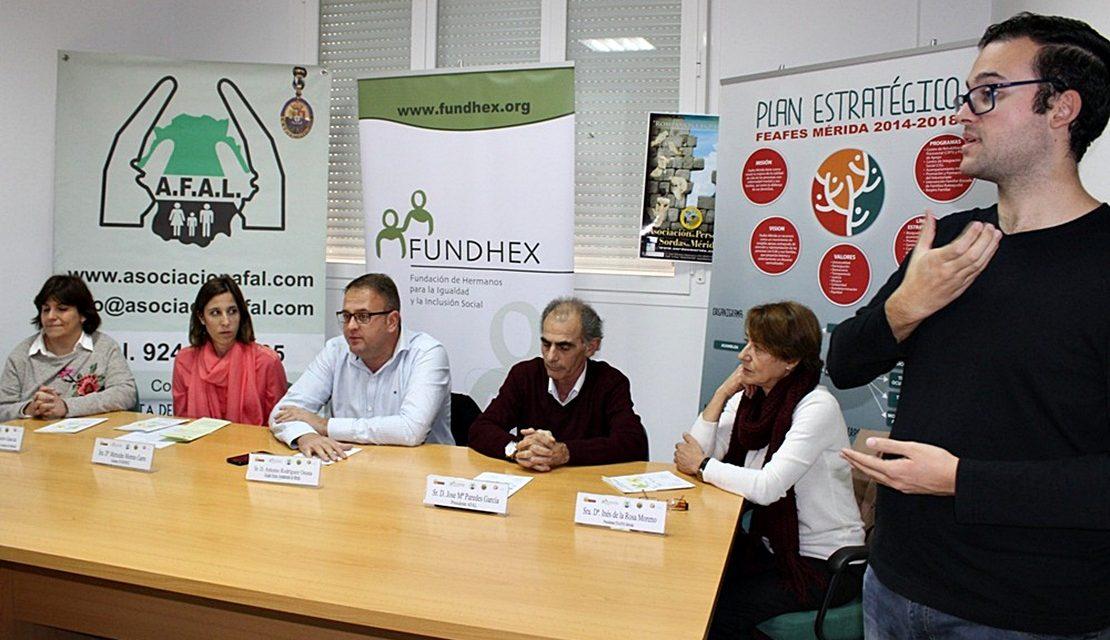 Fundhex firma un convenio con el Ayuntamiento de Mérida para integrarse en el Centro de las Capacidades