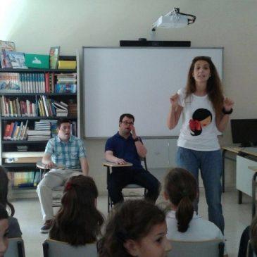Fundhex imparte una charla sobre la experiencia en Educación Inclusiva en el CIP Trajano de Mérida
