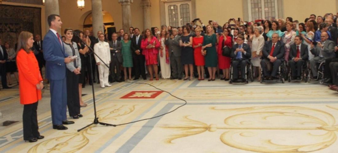 FUNDHEX, presente en la recepción de los Reyes de España a entidades de solidaridad social