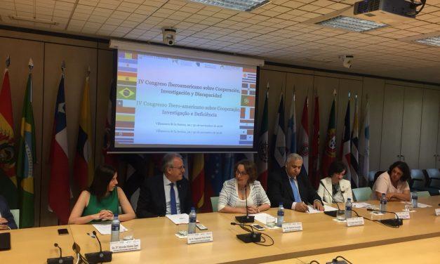 IV Congreso Iberoamericano sobre Cooperación, Investigación y Discapacidad: Igualdad de género y la movilidad de las personas