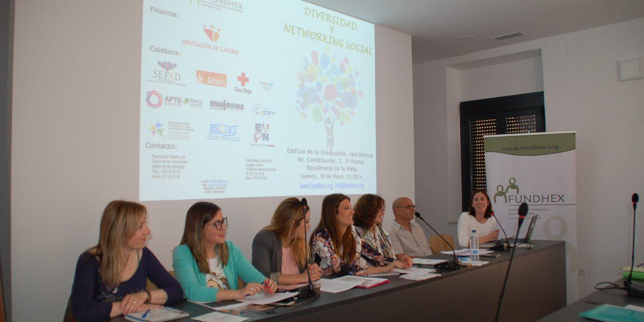 FUNDHEX ORGANIZA UNA JORNADA DE DIVERSIDAD Y NETWORKING SOCIAL.